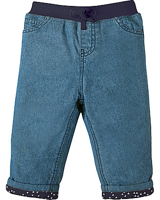 Frugi Comfy Lined Chambray Jeans - 100% organic cotton Long Jeans