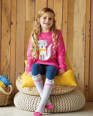 Frugi Cosy Rib Socks 2 Pack, Rainbow - Organic cotton Socks