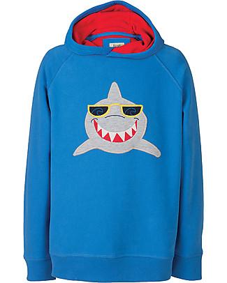 Frugi Hedgerow Hoody, Sail Blue/Shark - 100% organic cotton Sweatshirts