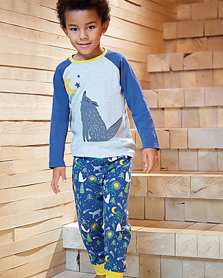 Frugi Jamie Jim Jams, Moonlit Night - 100% organic cotton Pyjamas