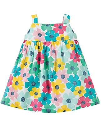 Frugi Jess Party Dress, Spotty Poppy - Organic Cotton Dresses