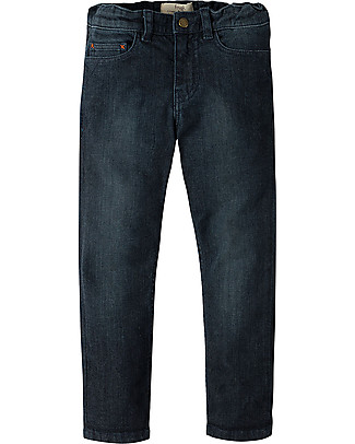 Frugi Joseph Jeans, Dark Wash Denim - Organic cotton Long Jeans
