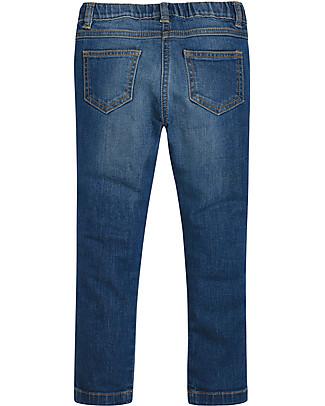 Frugi Julie Jegging, Mid Wash Denim - Organic Cotton Long Jeans