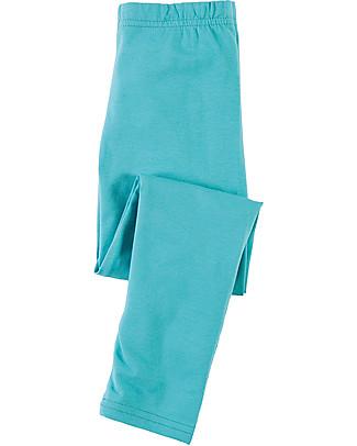 Frugi Libby Leggings, Aqua - Elasticated organic cotton Leggings