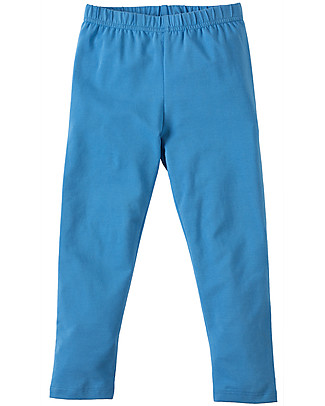 Frugi Libby Leggings, Sail Blue - Elasticated organic cotton Leggings