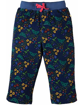 Frugi Little Cally Cord Trouser, Forest Forager - organic cotton Trousers