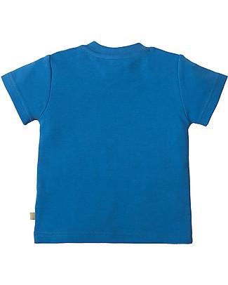 Frugi Little Creature Applique T-shirt, Sail/Snail - 100% organic cotton T-Shirts And Vests