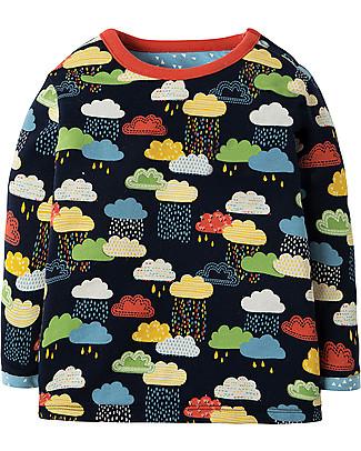 Frugi Little Rory Reversible Top, Warm Scandi Skies - Organic cotton Long Sleeves Tops