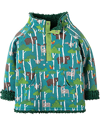 Frugi Little Snuggle Fleece, Hide & Seek - 100% organic cotton Sweatshirts