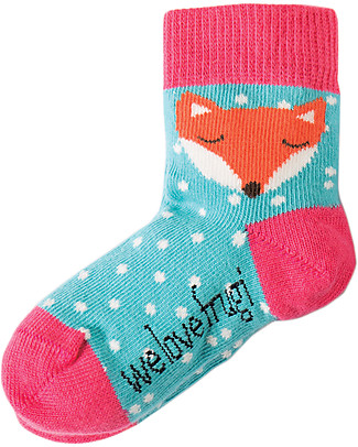 Frugi Little Socks 3 Pack, Bunny - Organic Cotton Socks