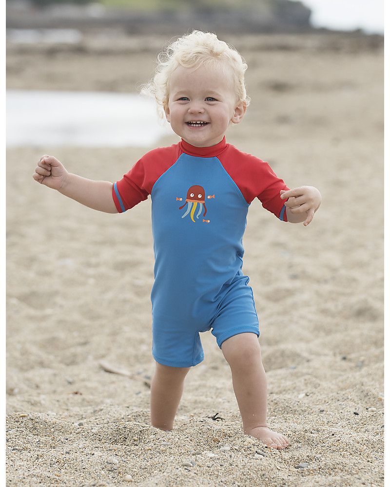 dd73a741dc63e Frugi Little Sun Safe Swimsuit