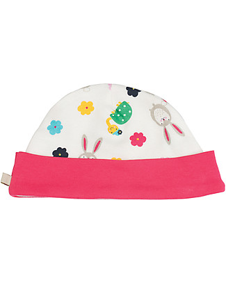Frugi Lovely Hat, Hare and Tortoise - 100% Organic Cotton Hats