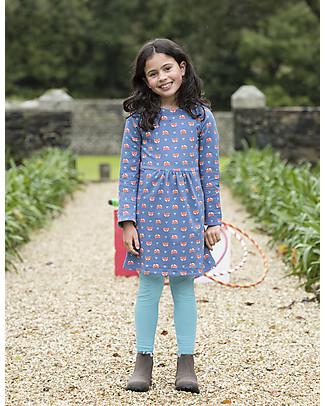 Frugi Lulu Jumper Dress, Geo Fox - Organic Cotton Dresses