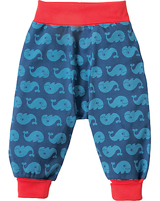 Frugi Parsnip Pants, Ink Whales - 100% organic cotton Trousers