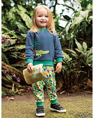 Frugi Parsnip Pants, Jungle Rumble - 100% organic cotton Trousers