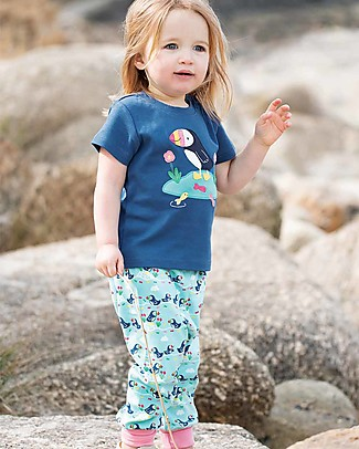 Frugi Parsnip Pants, St Agnes Puffin Parade - 100% organic cotton Trousers