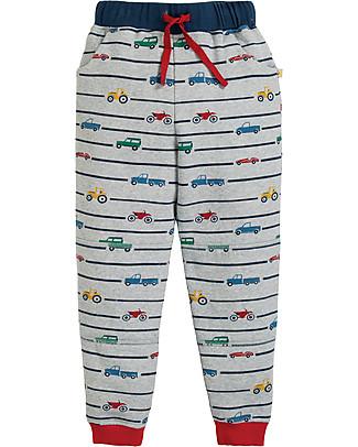 Frugi Printed Snug Jogger, Racing Rally - 100% organic cotton Trousers