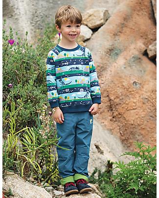 Frugi Rex Jumper, Dig Up a Dino - organic cotton Sweatshirts