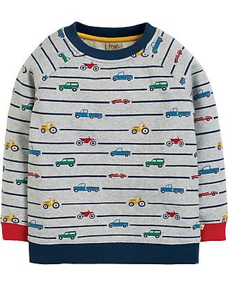 Frugi Rex Jumper, Racing Rally - organic cotton Sweatshirts