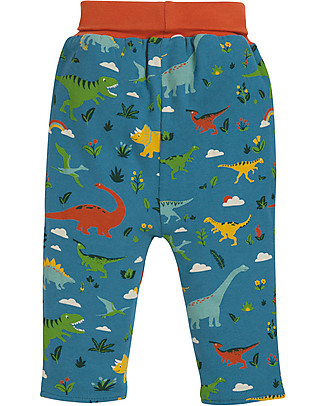 Frugi Rory Reversible Pull Ups - Jurassic Land - 100% Organic Cotton Trousers