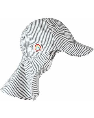 Frugi Seersucker Legionnaires Hat, Seersucker - Woven Cotton Hats