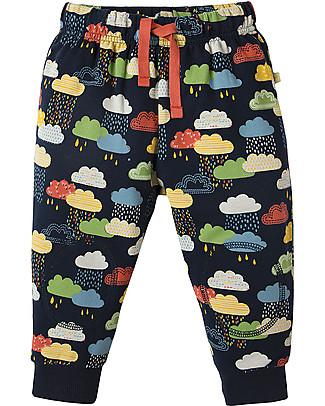 Frugi Snuggle Crawlers, Warm Scandi Skies - 100% organic cotton Trousers