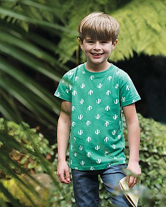Frugi Tresco T-shirts 2pk - Cactus Multipack - 100% organic cotton T-Shirts And Vests