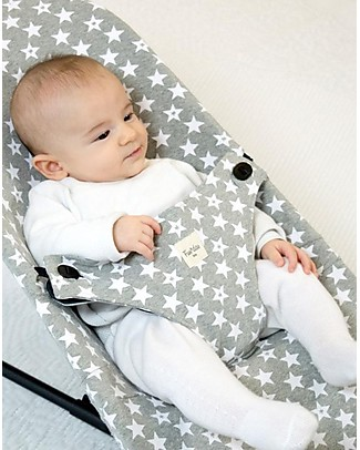 Fun*das bcn Cover for Baby Bouncer BabyBjörn, Fun Vintage Star - Elasticated cotton Stroller Accessories