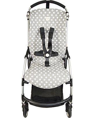 Fun*das bcn Cover for Bugaboo Bee 3 Stroller, Fu Vintage Star - Elasticated cotton Stroller Accessories