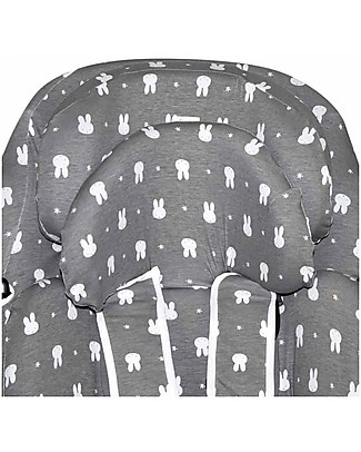 Fun*das bcn Cover for Car Seat Bébé Confort Axissfix 0+/1, Fun Miffy - Elasticated cotton Car Seat Accessories