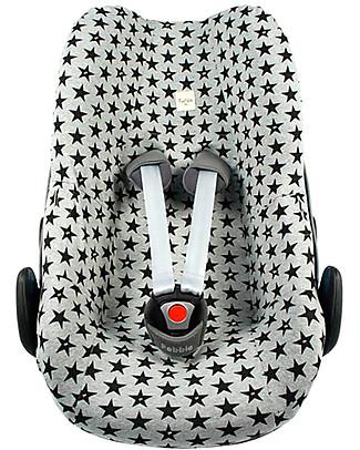Fun*das bcn Cover for Car Seats Group 0 Bébé Confort Pebble and Pebble Plus - Fun Black Star Car Seat Accessories