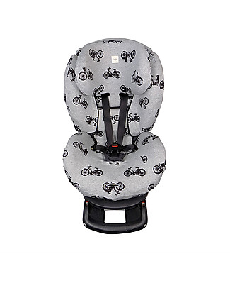 Fun*das bcn Cover for Car Seats Group 1 Besafe Izi Comfort X3 and X4, Izi Plus, Izi Kid and Izi Kid 2 size - Black Bikes Car Seat Accessories