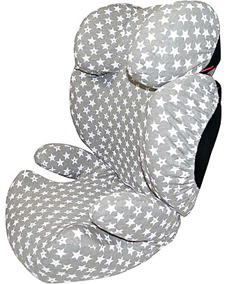 Fun*das bcn Cover for Car Seats Group 2/3 Cybex Solution Q2 fix, Fun vintage star - Elasticated cotton Car Seat Accessories