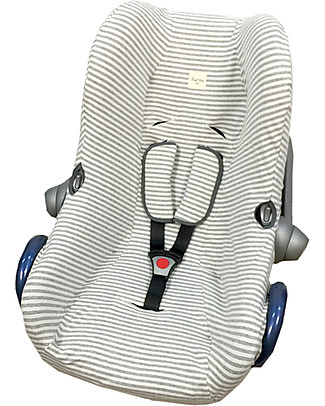 Fun*das bcn Cover for Car Seats Maxi-Cosi Cabriofix, Kodak Stripes - Elasticated cotton Car Seat Accessories