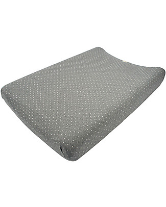 Fun*das bcn Cover for Changing Mat 80 x 50 cm, Vintage Dot – Elasticated cotton Changing Mats And Covers