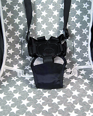 Fun*das bcn Padded Cover for Baby Jogger City Mini Stroller, Fun Vintage Star - Elasticated cotton Stroller Accessories