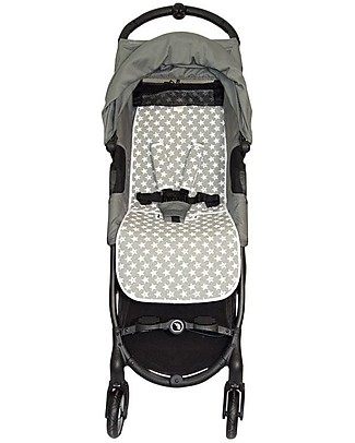 Fun*das bcn Padded Cover for BabyJogger Citi Mini Zip, Fun Vintage Star - Elasticated cotton  Stroller Accessories