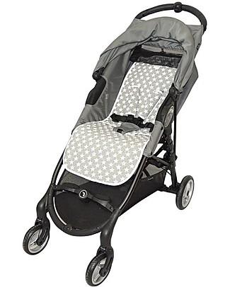 Fun*das bcn Padded Cover for BabyJogger Citi Mini Zip, Fun Vintage Star - Elasticated cotton  Stroller Accessories