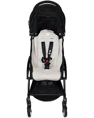 Fun*das bcn Padded Cover for Babyzen Yoyo Stroller, Kodak Stripes - Elasticated cotton Stroller Accessories