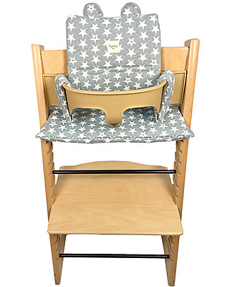 Fun*das bcn Teddy Ears Cushion for Tripp Trapp High Chair by Stokke, Fun Vintage Star High Chairs
