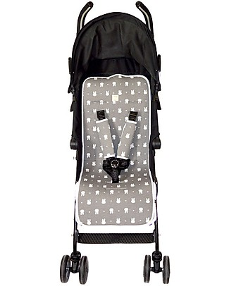 Fun*das bcn Universal Padded Cover for Stroller, Fun Miffy - Elasticated cotton Stroller Accessories
