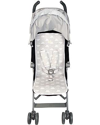 Fun*das bcn Universal Padded Cover Stroller, Mr. Wonderful – Elasticated cotton Stroller Accessories
