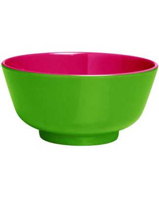 Ginger Duo Colour Dipping Bowl - Green & Pink null