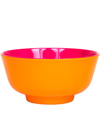 Ginger Duo Colour Dipping Bowl - Orange & Pink null