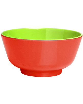 Ginger Duo Colour Dipping Bowl - Red & Green Bowls & Plates