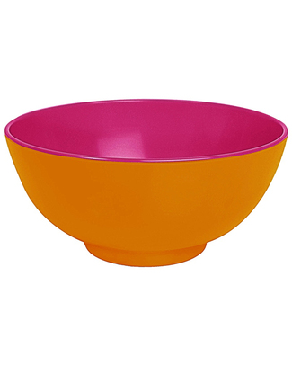 Ginger Funky Duo Colour Bowl - Orange & Pink null