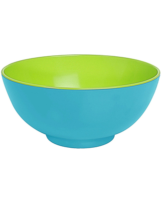 Ginger Funky Duo Colour Bowl - Turquoise & Green null