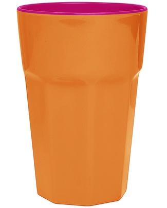 Ginger Melamine Beaker - Orange & Pink null