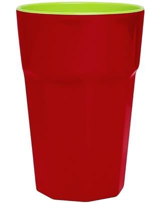 Ginger Melamine Beaker - Red & Green Cups & Beakers