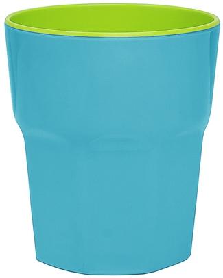 Ginger Melamine Beaker - Turquoise & Green null